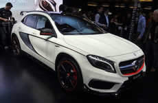 Incredible Acceleration Autos - The Mercedes GLA45 AMG Debuted at the Detroit Auto Show 2014
