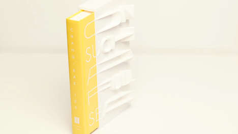 3D-Printed Book Covers - The Limited Edition 'On Such A Full Sea' Hardcover is Sculptural