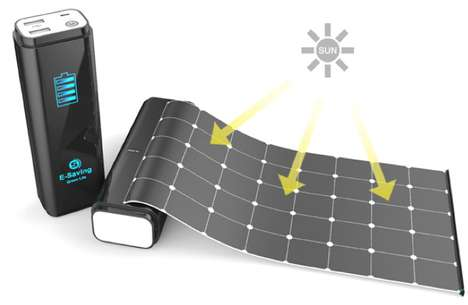 Roll-Out Solar Chargers