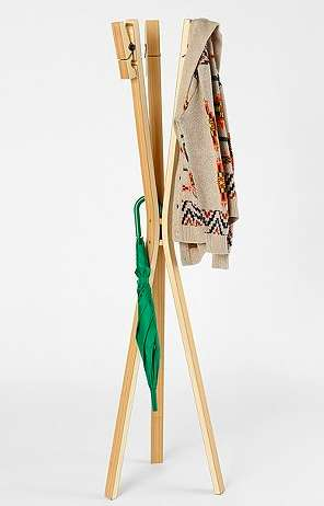 Oversized Clothespin Coat Stands