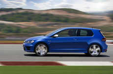 Speedy Family Car Updates - The Volkswagen Golf R Holds Its Own for Family and Speed at the Detroit