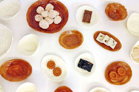Perfectly Palatable Plates - The Sweeeeet Tableware Set is Made From Traditional Korean Dessert