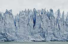 Famous Glacier Photography - Nowhere is a Place by Frank Thiel Depicts the Perito Moreno Glacier