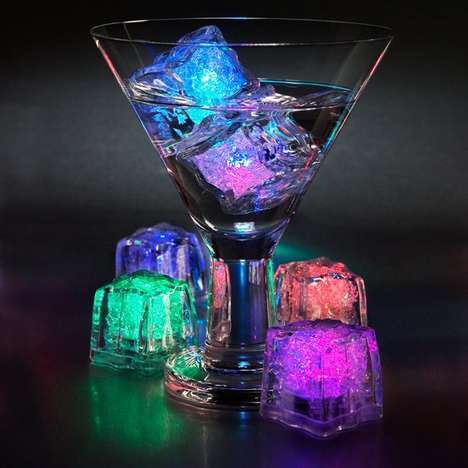 Novelty Illuminated Ice Cubes