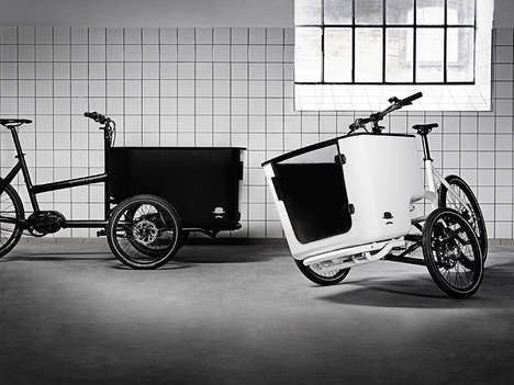 Cargo-Carrying Tilting Tricycles