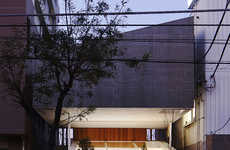 Hovering Space-Like Homes - Nagayama's Katsutadai is the Answer to Dense Urbanity by Stacking