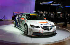 Ambitiously Modified Race Cars - The Acura TLX GT Race Car Made Its Debut at The 2014 NAIAS