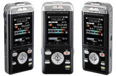 Wi-Fi Enabled Voice Recorders - The Olympus DM-901 Voice Recorder Has Wi-Fi Connectivity
