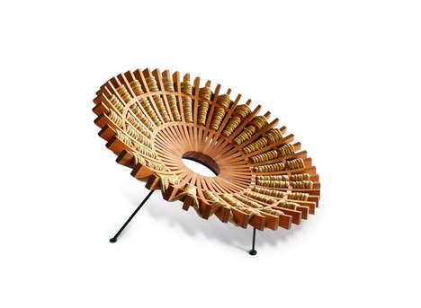 Interwoven Fan-Like Chairs
