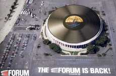 Record-Breaking Vinyl Records - The Forum Presented by Chase Reopens with a World's Biggest Bang