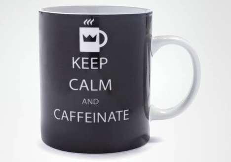 Sardonic Motivational Caffeine Mugs