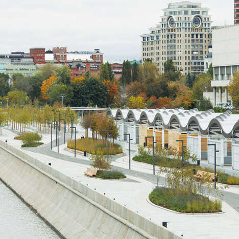 Wave-Inspired Parks - The Krymskaya Embankment will Transform from a Highway into a Riverside Park