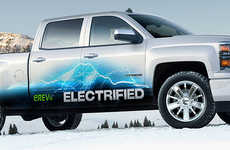 Electric Truck-Charging Apps - The VIA Motors 'PlugShare' in-Car App Debuted at NAIAS 2014