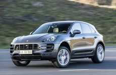 Turbo-Charged SUV Vehicles - The 2015 Porsche Macan Turbo Was Unveiled at the 2014 NAIAS