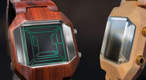 Galactic Wooden Watches