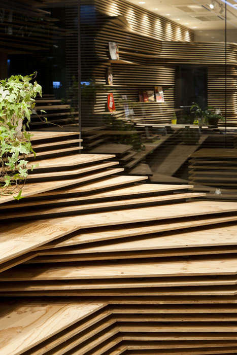 Stacked Plywood Interiors