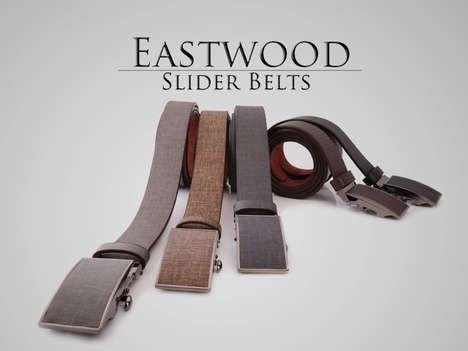 Chic Simplistic Sliding Belts