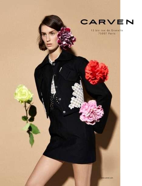 Blurred Flower Fashion Ads