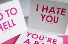 Insulting Valentine's Cards - These Valentine's Cards From YesUMaystationery are for Com