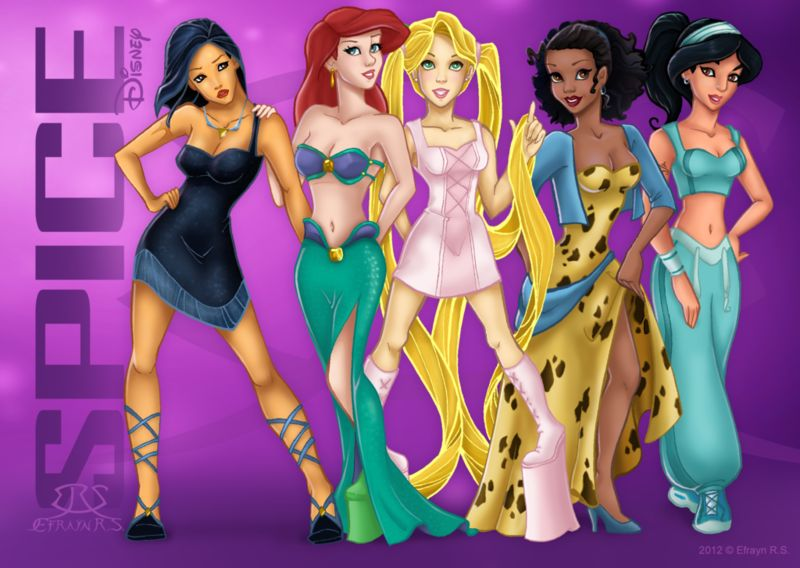 Girl Band Disney Makeovers