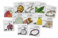 Eclectic Artistic Infusions - Communitea Packaging Features Distinctive Doodles on Each Variety