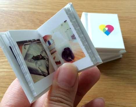 Mini Magnetic Photo Books