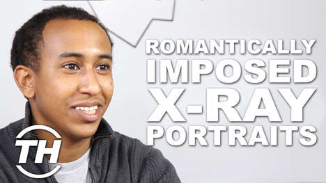 Romantically Imposed X-Ray Portraits