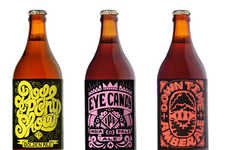 Groovy Booze Branding - Devil's Peak Beer Packaging Channels 70s Spirit and Nostalgia
