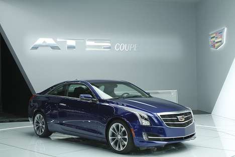 WiFi-Laced Luxury Cars - The 2015 Cadillac ATS Coupe is Made for Millennial Drivers