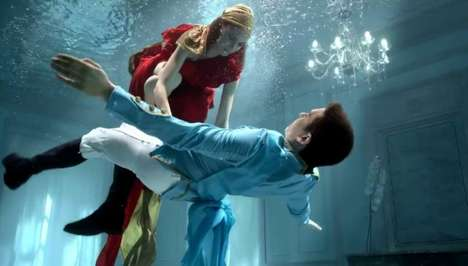 Romantic Underwater Commercials