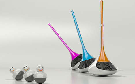 Self-Stabilizing Brooms
