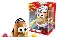 Iconic Cartoon Potatoes - The Homer Simpson Potato Head Was Made for the Shows 25th Anniversary