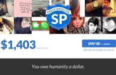 Selfie Shaming Sites - The Selfie Police Website Asks Self-Portrait Offenders to Pay Up for Charity