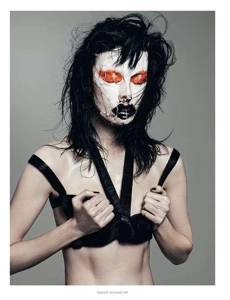 Joker-Like Makeup Editorials