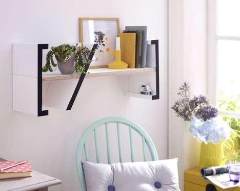 Slanted Shelf Divisions