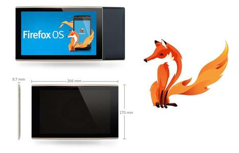 Web Browser-Integrated Tablets