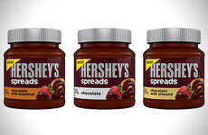 Chocolate Breakfast Spreads - Hershey's Chocolate Spreads Will Ensure You Never Skip Breakfast