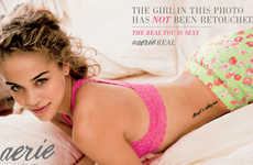 Untouched Underwear Ads - The Aerie #AerieReal Campaign Moves Away from Photoshop and Supermodels