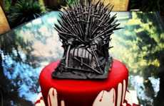 Blood-Drenched Confections - The Red Wedding Cake is Made for 'Game of Thrones' Fans