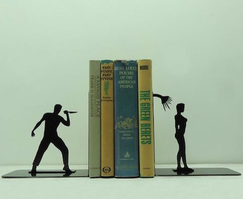 45 Creatively Unique Bookends