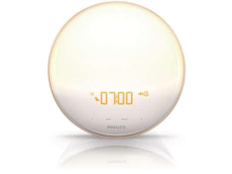 Sun-Simulating Alarm Clocks