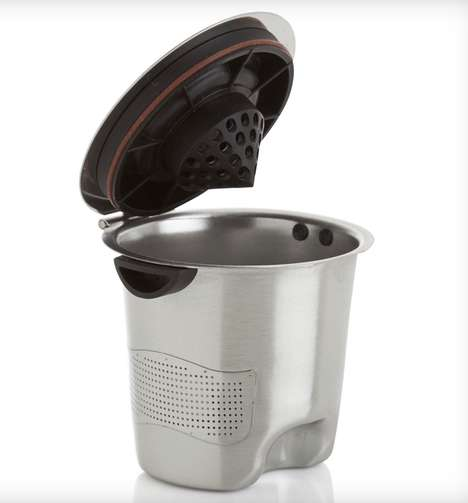 Refillable Stainless Steel K-Cups - The Ekobrew Elite Cup is Environmentally Consious