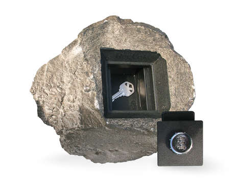 Natural Key Safes - This Rock Key Hider From RocLoc Subtly Keeps Your Keys Safe and Accessable