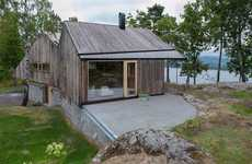 Detached Forest Retreats - The Off/Ramberg House in Norway is Sustainably Rustic
