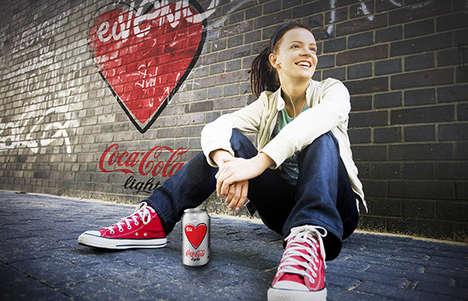 Redesigned Heartwarming Soda Ads