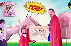 Super Hero-Inspired Forts - Have Fun Playing with Your Child with the Super Hero Blanket Fort Kit