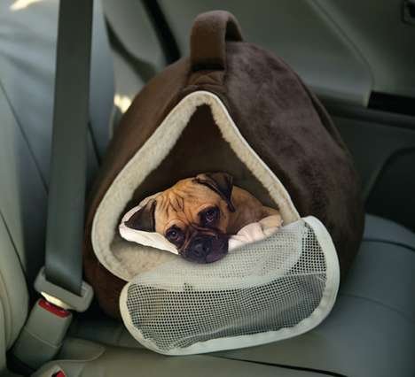 Petite Plush Pet Carriers - The Pioneer Pet Oval Cuddle Carrier is for Both Dogs and Cats