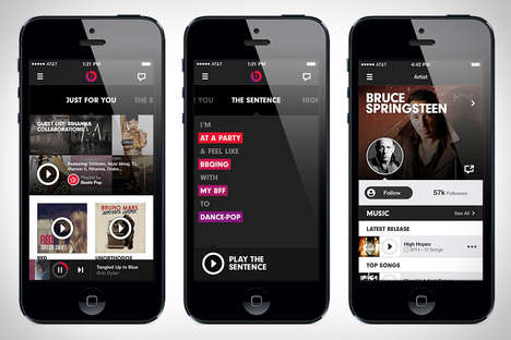 Curated Streaming Services - Beats Music Provides Listeners with a Revolutionized Interface
