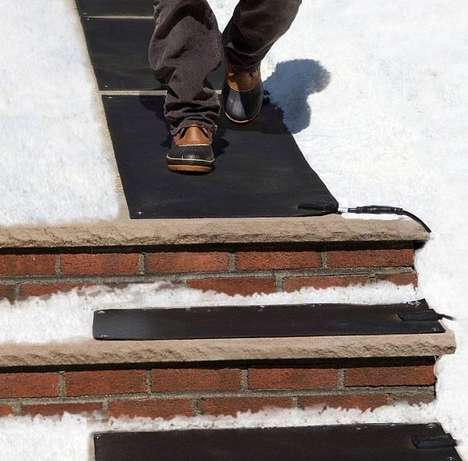 Snow-Melting Heating Mats