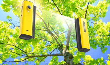 Innovative Navigation Cams - The Travelling Companion Panorama Camera is Optimal Tourist Technology